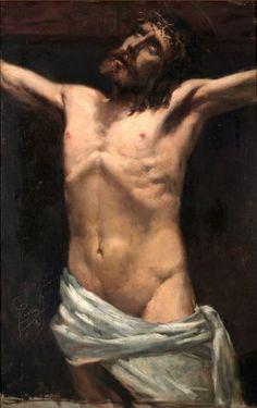 'Estudio de Cristo', 1883, Joaquín Sorolla.