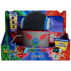 PJMASKS Lights and Sounds Robot, Red/Blue/Green/Grey, >>> Click photo to examine more details. (This is an affiliate link). Pjmask Party, Party Ideas, Gift Ideas, Army Men Toys, Frozen Dolls, Toddler Boy Gifts, Power Star, Hobby Toys, Baby Dogs