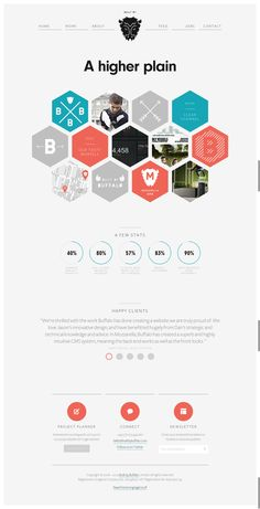 Top 20 'Agencies of the Year' landing pages web design - Imgur