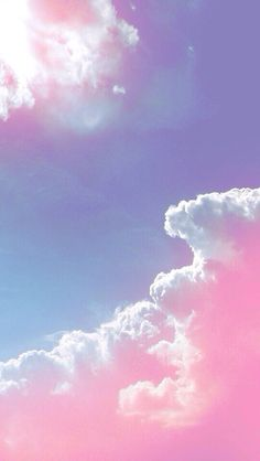 Pastel purple and pink clouds in the sky ● phone background Pink Clouds Wallpaper, Wallpaper Backgrounds, Nature Wallpaper, Rainbow Wallpaper, Vintage Flower Backgrounds, Heaven Wallpaper, Beautiful Wallpaper, Trendy Wallpaper, Computer Wallpaper