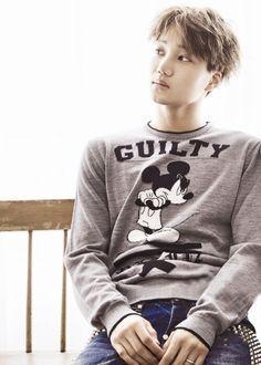 |EXO| Kai (Kim Jongin) OH Gosh I miss EXO! Exo Korean, Korean Men, K Pop Boy Band, Boy Bands, Exo Band, Chanyeol Baekhyun, Korean People, Young At Heart, Bts And Exo