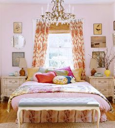 I love the colors and the mixing and matching of patterns. :)