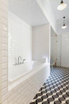 subway tiles shower - Bing Images