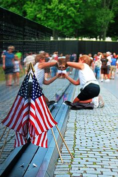 Washington DC - Vietnam War Memorial