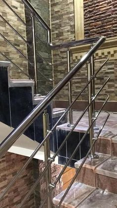 Steel Grill Design, Steel Railing Design, Staircase Railing Design, Window Design, Door Design, House Design, Stainless Steel Stair Railing, Glass Balcony Railing, Balcony Grill Design