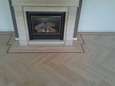 visgraat pvc vloer in Heerlen door visgraatvloer.com Luxury Vinyl Tile, New Homes, Flooring, House, Bathroom, Home Decor, Kitchen, Washroom, Decoration Home