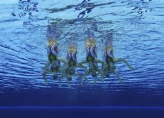 Synchronized Swimming: Team Technical Routines - Synch. Swimming | NBC Olympics Nbc Olympics, Summer Olympics, Synchronized Swimming, Swim Team, London, Games, Big Ben London, Gaming, Toys