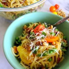 drunken spaghetti alla carbonara - a spruced-up hybrid of drunken pasta (pasta cooked in wine) and traditional carbonara