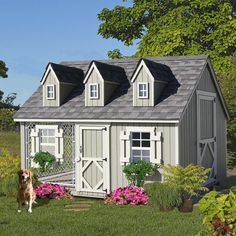Little Cottage Company Cape Cod Cozy Cottage Kennel Dog House | Wayfair