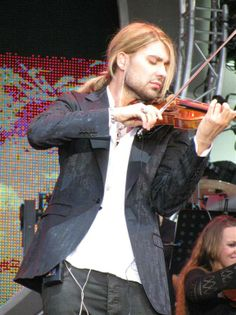 David Garrett ♥ OMG, he is SO beautiful ♥ He is this gorgeous in real life. I will post my pics soon from the concert. What a precious and talented guy!