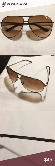 Marc Jacobs Aviators👓 Marc Jacobs Aviators! Gold and brown tint! No Case!Open to Offers! No Trades! Marc Jacobs Accessories Glasses