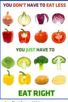 You don't have to eat less. You just have to eat right. Nutrition Month, Health And Nutrition, Quebec, Raw Food Recipes, Healthy Recipes, Healthy Eats, Healthy Foods, Nutritarian Diet, Eat To Live