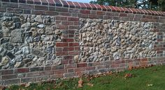 We are a Sussex based conservation company working in traditional stone work in particular flint. We use traditional methods & materials such as lime mortar to cater for specific conservation requirements. Stone Masonry, Brick And Stone, Stone Work, Stone Walls, Kerala Architecture, Brick Architecture, Brick Fence, Brick Wall, House Wall Design