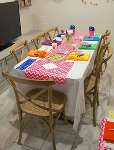 We love how much fun these little ones are having in this crayon-themed first birthday party.