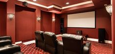 Cover your home theater windows with window coverings from SelectBlinds.com!