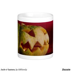 Jack-o'-lantern. Classic White Coffee Mug