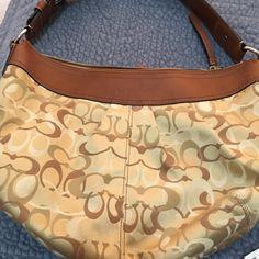 Bag Authentic Coach bag. Shoulder bag. Excellent condition.   Price drop!!! Coach Bags Shoulder Bags