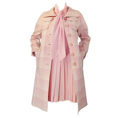 1stdibs   1960s Ungaro Pink Dress & Coat