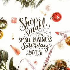 Be sure to join us and Shop Small on Small Business Saturday tomorrow. Let's make it the best one yet! #smallbusiness #smallbusinesssaturday #shoplkn #shoplocal #shopsmall #lkn #lakenorman #mooresville #gifts #shopping #holiday #christmas