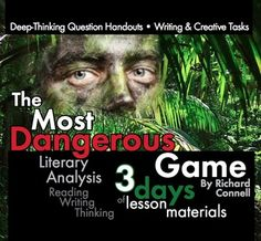 literary analysis the most dangerous game