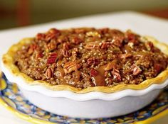 Crunchy Carmel apple pie, pie of Emeril's eye winning recipe.
