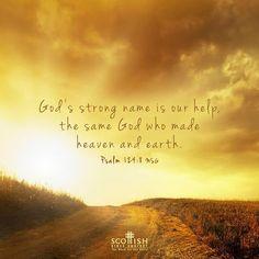REDE MISSIONÁRIA: PSALM 124:8