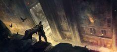 The Beautiful And Bold Concept Art of Batman: Arkham City