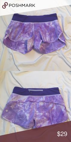 Lululemon speed shorts Barely worn running shorts lululemon athletica Other