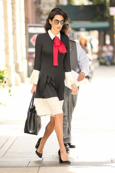 Amal Clooney is a true style inspiration every single time she steps out. We love her for being open to new styles and surprising us with every appearance she makes.    With a mix of playful and professional,