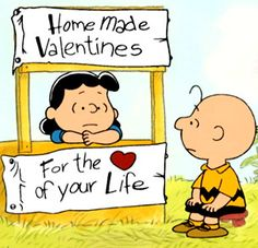 Charlie Brown's Valentine's Day Desktop | charlie brown valentine's day