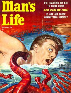 "Featuring ""Red Tide of Death!"" and the enigmatic ""Sex Can Be Fun!""  Begging the question ... was there a time when it wasn't fun?"
