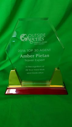 Congrats Amber! She