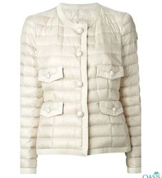 Holding on to the reputation and fame in the market for wholesale padding jackets in rich fabric, Oasis Jackets, the eminent manufacturer is always delivering its best. Check the catalog to bulk order. Oasis Jackets, Straight Jacket, Stylish Jackets, Padded Jacket, Jacket Buttons, Quilted Jacket, Moncler, Cool Outfits, Jackets For Women