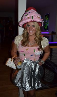 my cupcake costume i made for halloween always makes me smile your significant other could - Halloween Costume Cupcake