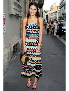 My idol. Margherita Missoni.