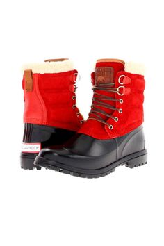 Dsquared2 Canada Rain Boots, $454.99 (on sale), couture.zappos.com #RevlonPersonalStyle