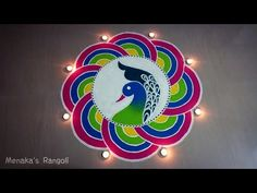 Top best pattern flower rangoli designs that are not only beautiful but also make your Pongal 2020 colorful. Rangoli Designs Photos, Indian Rangoli Designs, Rangoli Designs Latest, Rangoli Designs Flower, Rangoli Border Designs, Rangoli Patterns, Rangoli Ideas, Flower Rangoli, Beautiful Rangoli Designs