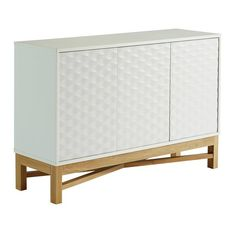 Buy Hygena Zander Textured Large Sideboard - White & Oak Effect at Argos.co.uk - Your Online Shop for Sideboards and dressers, Living room furniture, Home and garden.