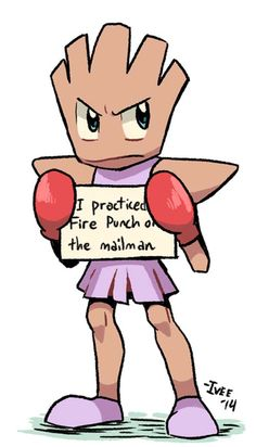 pokemon shaming hitmonchan.LIKE AND FOLLOW ME IF YOU THINK THIS IS FUNNY