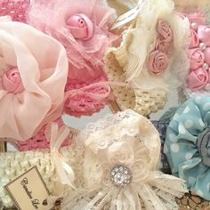 delicate infant headbands at Madeleine L'Amour