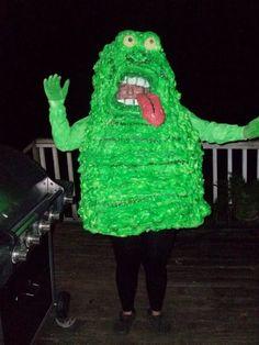 Slimer homemade costume -- we could do better?