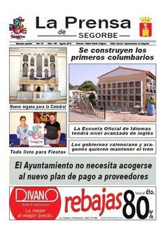 La Prensa de SEGORBE nº 165 Agosto 2013