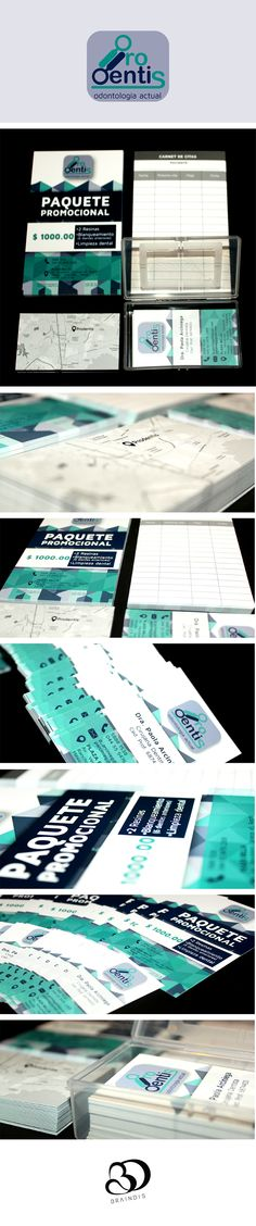Branding realizado para Prodentis | Síguenos en www.facebook.com/braindisagencia