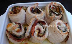 Rotolini di tacchino e melanzane buonissimi, rotolini con melanzane, ricetta facile secondo, involtini di tacchino, ricetta con melanzane, idea pranzo, secondo