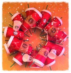 Lo último en #decoración navideña #DIY Vasos #RojoStarbucks vasos rojos #NavidadStarbucks #Starbucks #cafe #coffee #españa #spain