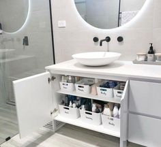 Our Ensuite Organisation- How to Organise your Bathroom! - Just Another Mummy Bl. - Ikea DIY - The best IKEA hacks all in one place Ikea Must Haves, Ikea Organization Hacks, Bathroom Organisation, Organizing Ideas, Organising, Organized Bathroom, Kitchen Organization, Organize Bathroom Drawers, Cleaning Cupboard Organisation