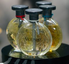 Old Perfume House Volnay Paris ~ Brume d'Hiver. Ambre de Siam, Yapana & Perlette  Vintage fragrances revived 2014.