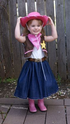 Items similar to Sheriff Callie inspired outfit - dress, bolero, bandana on Etsy Cumple Sheriff Callie, Cool Costumes, Halloween Costumes, Wild West Theme, Rodeo Time, Cowgirl Outfits, Frack, Learn To Sew, Dress Outfits