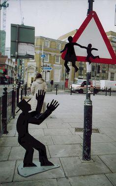 Darius & Downey, London, 07 #streetart #publicart #artwork http://www.pinterest.com/TheHitman14/art-streetpublic-%2B/