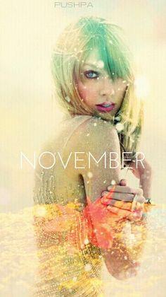 Taylor Swift Wallpaper November made by Pushpa